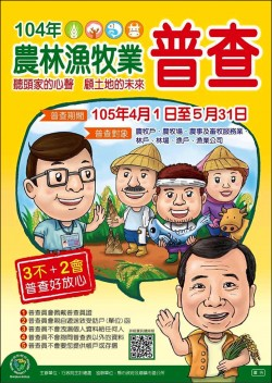 PO網自清 農林漁牧普查係金ㄟ