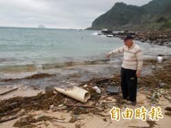 惱人銅藻再現    基隆外木山海面漂浮