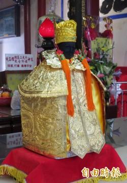 學甲香遶境 開基保生大帝換上純金打造的神衣