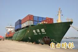 安平港海運快遞專區啟動 豐澤園貨櫃輪首航到泉州港