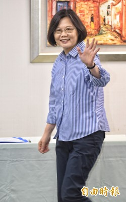 台灣指標民調:小英施政50.6%滿意
