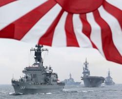 針對北韓   美日韓5艘神盾艦聯合軍演