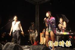 遇水則發 靚夏台北音樂會風雨中高歌