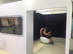 台中看見「科技故宮」 用VR看趙孟頫的畫