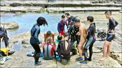 最後一堂潛水課... 女學員溺斃