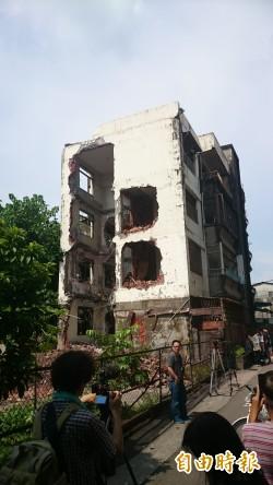 「歷史建物」被毀損 立委要求嚴懲