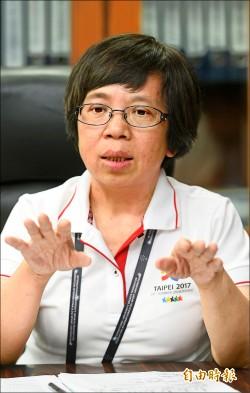 《星期專訪》執行長蘇麗瓊︰台北世大運軟硬體 要永續傳承