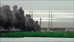 美火箭載衛星 試射爆炸