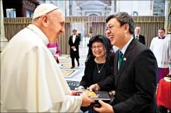 會晤陳建仁 教宗:為台灣人民祈禱