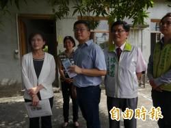 文化部長會勘清水眷村園區 擬結合港藝中心發展