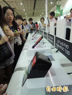 低階手機面板報價9月漲幅高達5成 彩晶受惠