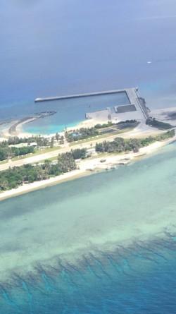 太平島新建物全都露 政府向Google反映處理