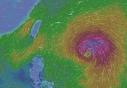 颱風持續增強 彭啟明:梅姬又更形茁壯、胖胖的