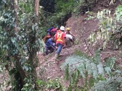 男子墜崖受困6天 捱過颱風奇蹟獲救