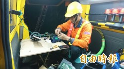 台中市有線電視線路 修復逾9成