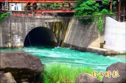 減緩淤積 曾文水庫啟動河道排砂