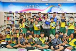 推廣電子書 市圖邀國小學童參訪