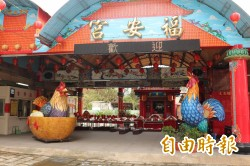 台灣燈會在雲林 虎尾福安宮宗教燈區搶先看