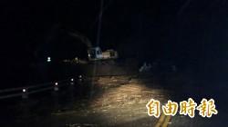 大豪雨轟炸 台東南迴柔腸寸斷