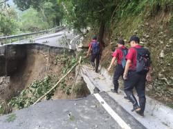 天氣不穩影響 多條公路封閉、管制通行