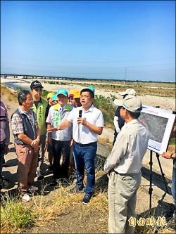 大甲溪、大安溪1.3億元固堤 明年7月完工