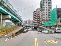 中山橋下引道 年底前拆完