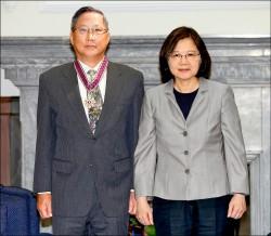 AIT主席莫健訪台 將晉見蔡總統