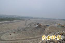 首座平地水庫明年六月完工 汛期將有清澈原水用