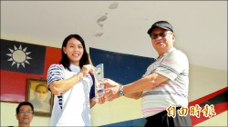 《里約奧運舉重銅牌得主》郭婞淳返母校 寶中頒傑出校友