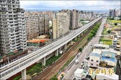 台中鐵路高架通車 軌道噪音大擾民