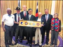 美101歲二戰空軍英雄 向中華民國致謝