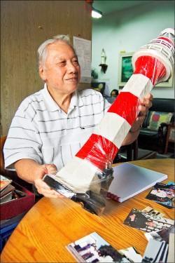 88歲燈塔王:只要能動 繼續當志工