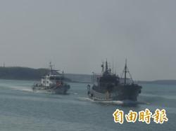中國漁船造浪衝撞拒檢 特勤發射震撼彈制敵