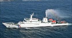 金門千噸海巡艦 嚴打越界漁船