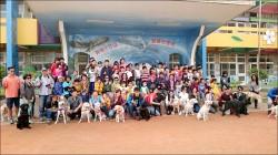 20隻導盲犬來了 文德國小學童超嗨