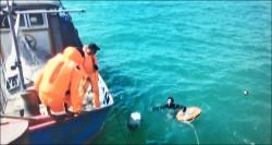 中國漁船撈過界 船長懼罰竟跳海
