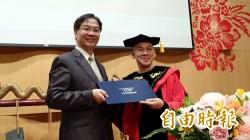 導演蔡明亮 獲南藝大頒贈榮譽博士