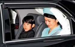 日悠仁小王子座車 追撞前車幸無礙