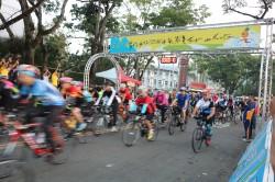 南投自行車挑戰賽 800人競騎
