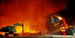 一個月兩起 斗六回收場又大火