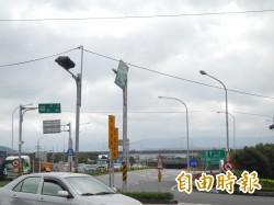 國1頭份至新竹系統交流道 假日開放路肩