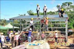 義工團前進滿州 為弱勢重建家園