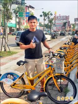 屏東縣Pbike自行車上路2年 破百萬人次