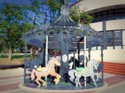 泰安休息站添公共藝術品 親子觀賞遊玩趣