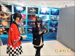 日本高校生訪苗農 VR行動體驗