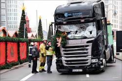卡車衝進耶誕市集 柏林12死48傷