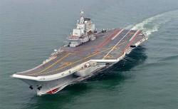 共軍航艦跨海訓練 開赴西太平洋
