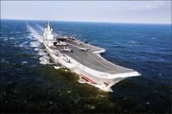 日媒:中國航艦首越第一島鏈 牽制川普
