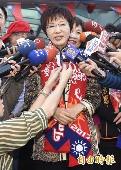 批柯P胡說八道    洪秀柱:台北市一定要拿回來
