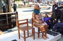 不滿慰安婦銅像未除 日召回駐韓大使